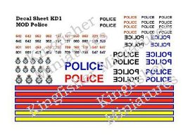 MOD Police Vehicle Markings